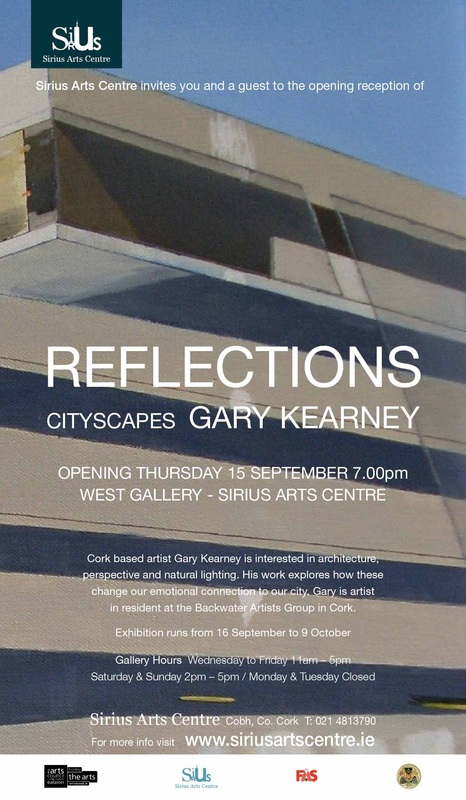 Acrylic painting, Photorealism, Sirius Arts Centre, Irish Painter, Irish artist, Gary Kearney, Art Gallery, Cork City, White,Multi-Storey, Car Park, Parking Signs, Poles Apart, Sold, The Elysian, Cork City, Online Art,